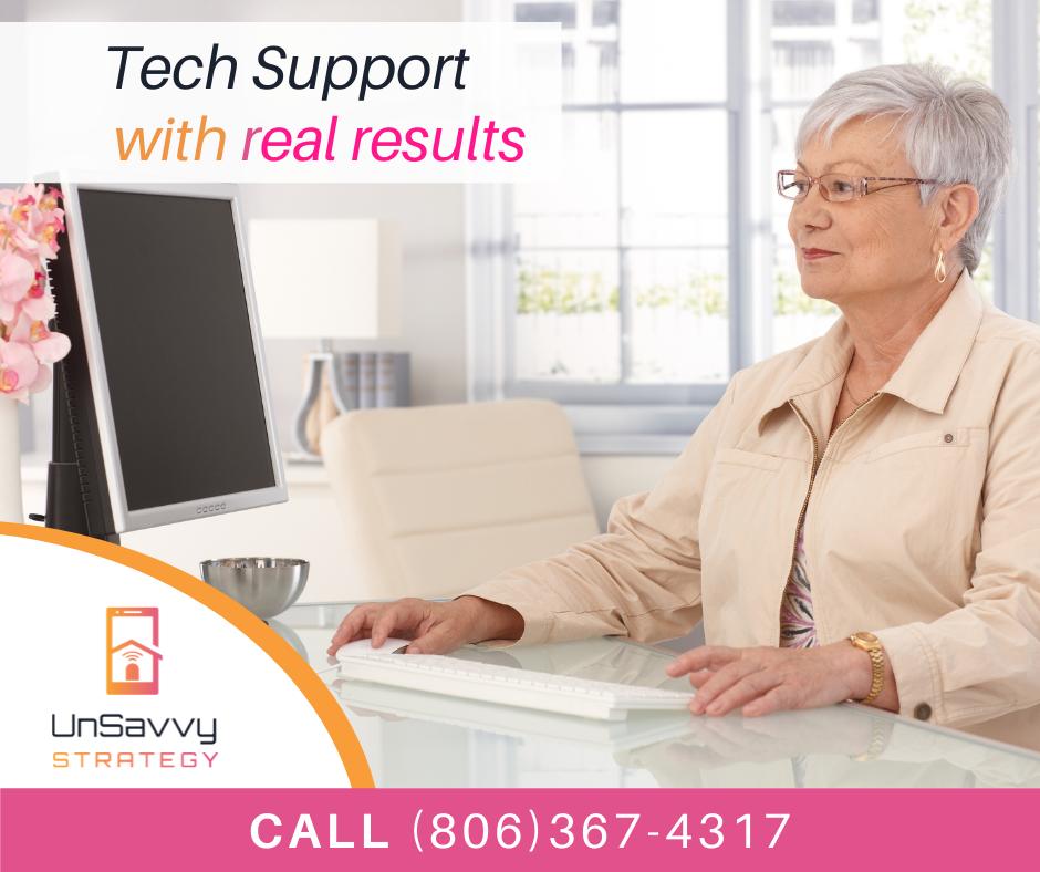 Tech support for seniors